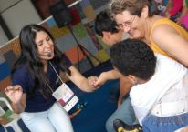 Apresentação na Feira do Livro de Porto Alegre/2009