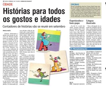 CONTADORES DE HISTÓRIAS