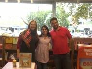 Leila Pereira, Rosane Castro e Vladi Araújo.