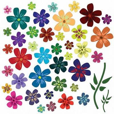 Imagens Animadas Desenhos De Flores Coloridas 77efd1 Jpg